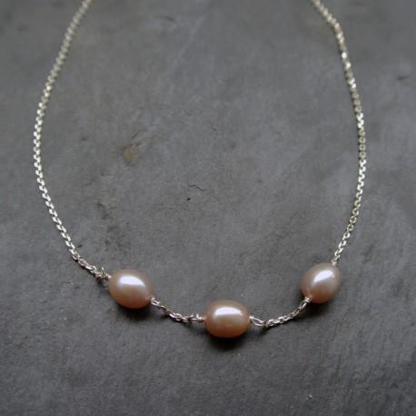 Collier Lanka en perles d'eau douce